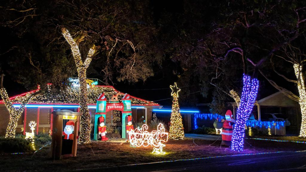 Christmas Lights Are Always Popular Sometimes A Little Too Popular