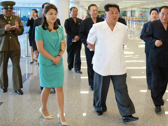 North Korean dictator Kim Jong-un's wife 'secretly gave birth to heir'