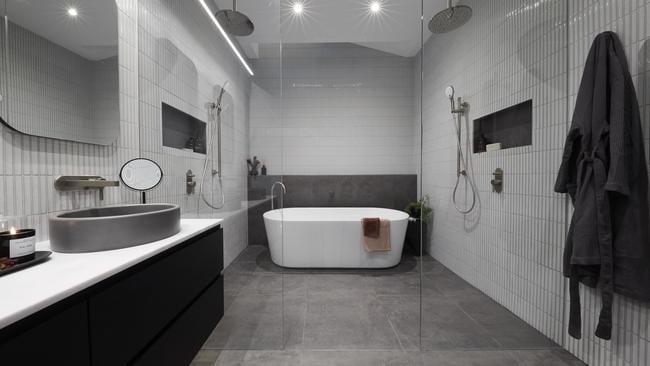 The main bathroom.