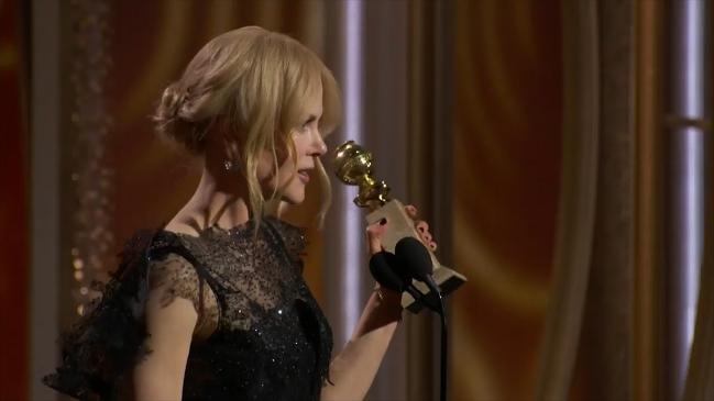 Nicole Kidman celebrates the power of women