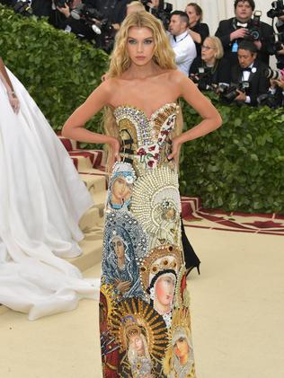 Stella Maxwell attends the 2018 Met Gala in New York City. Picture: Getty