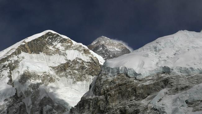 Clear conditions meant more and more climbers were keen to reach the summit of Mount Everest. Picture: AP Photo/Tashi Sherpa, File.