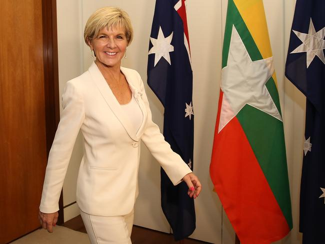Labor would've picked a leader of Julie Bishop's calibre. Picture: Kym Smith
