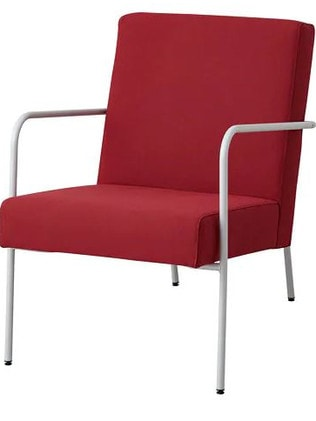 The PS 1999 red armchair normally sells for $199.