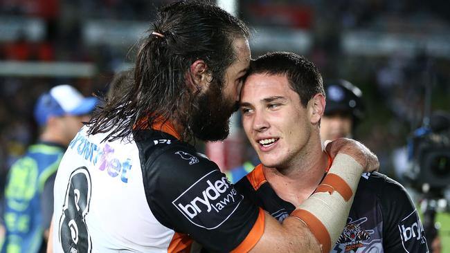 Aaron Woods and Mitchell Moses may not be at the Tigers too much longer.