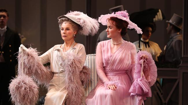 The costumes for My Fair Lady have been modelled on the original designs by Cecil Beaton. Picture: Peter Wallis