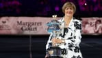 Margaret Court has been controversially honoured at the Australian Open. Source: Getty Images