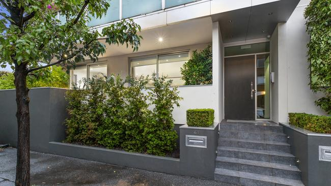 The three-bedroom apartment has been used by Thomas Hamel and his staff as a Melbourne base.