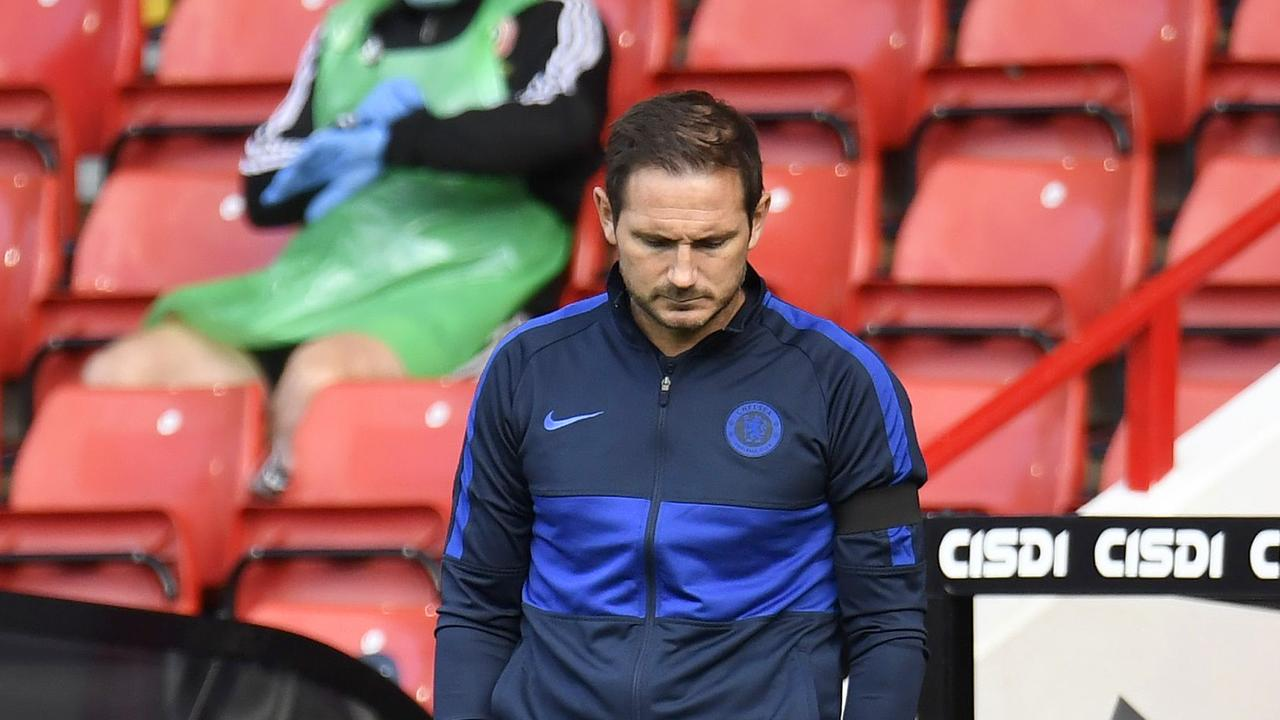 Frank Lampard has been struggling with Chelsea.