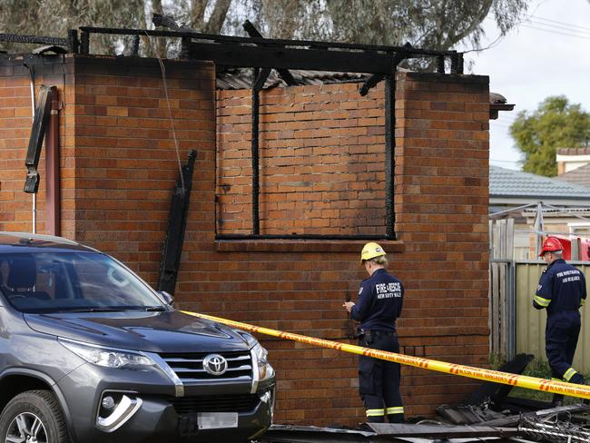 Three children died in the fire. Picture: Darren Pateman/AAP