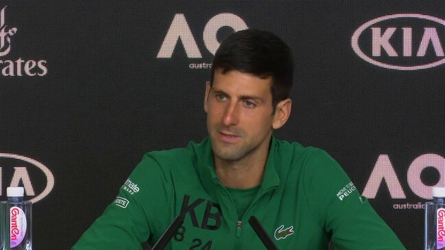 Djokovic comments on the Margaret Court controversy