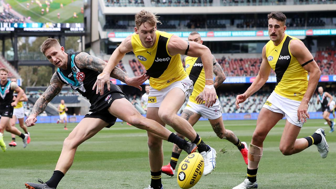 Hamish Hartlett has thrown a shot at Tom Lynch. Photo: Sarah Reed