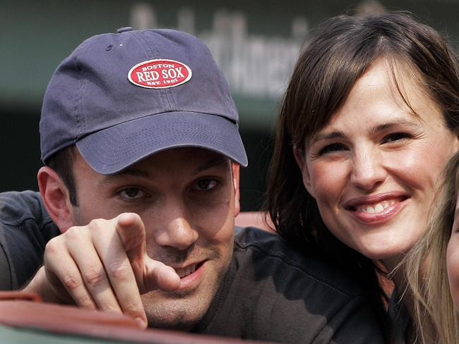 Devoted Boston Red Sox fan Ben Affleck refused to wear Yankees cap ... d67cd676e67b