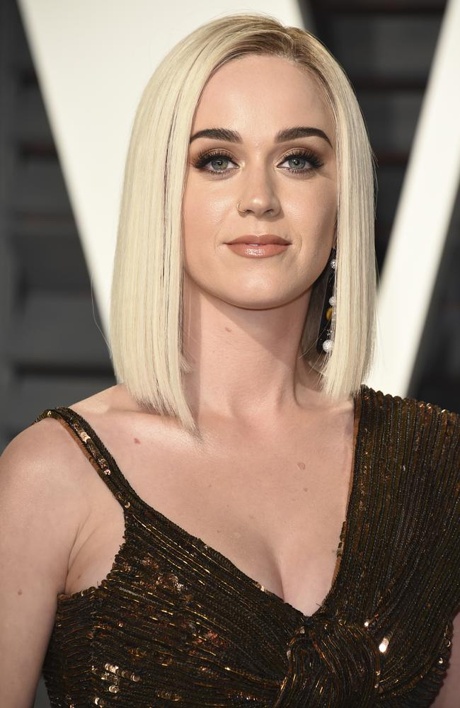 Katy Perry is taking 'respectful, loving space' away from her ex. Picture: AP