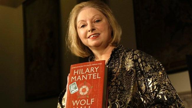 Wolf hall author hilary mantel