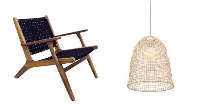 It's all about the rattan. Image: Bunnings