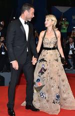 Liev Schreiber and Naomi Watts attend the premiere of 'The Bleeder' during the 73rd Venice Film Festival on September 2, 2016 in Venice, Italy. Picture: Getty