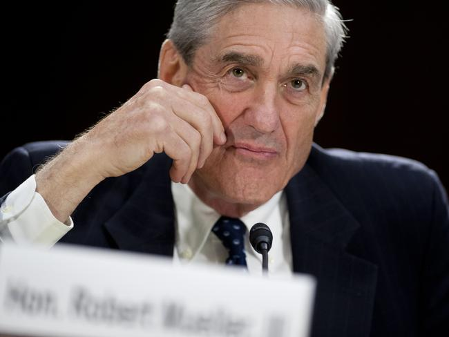 Special counsel Robert Mueller is investigating whether the Trump campaign colluded with Russia. Picture: AFP/Saul Loeb