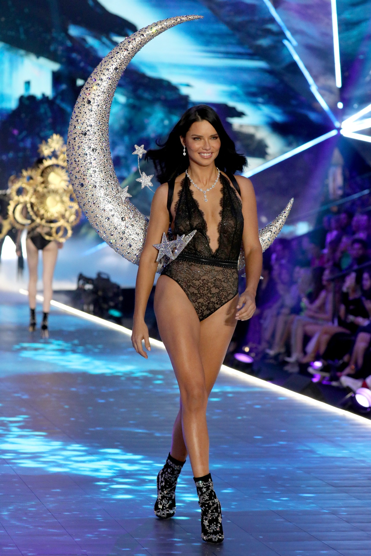 Adriana Lima tried a new exercise and beauty regimen for the 2018 Victoria's Secret Fashion Show