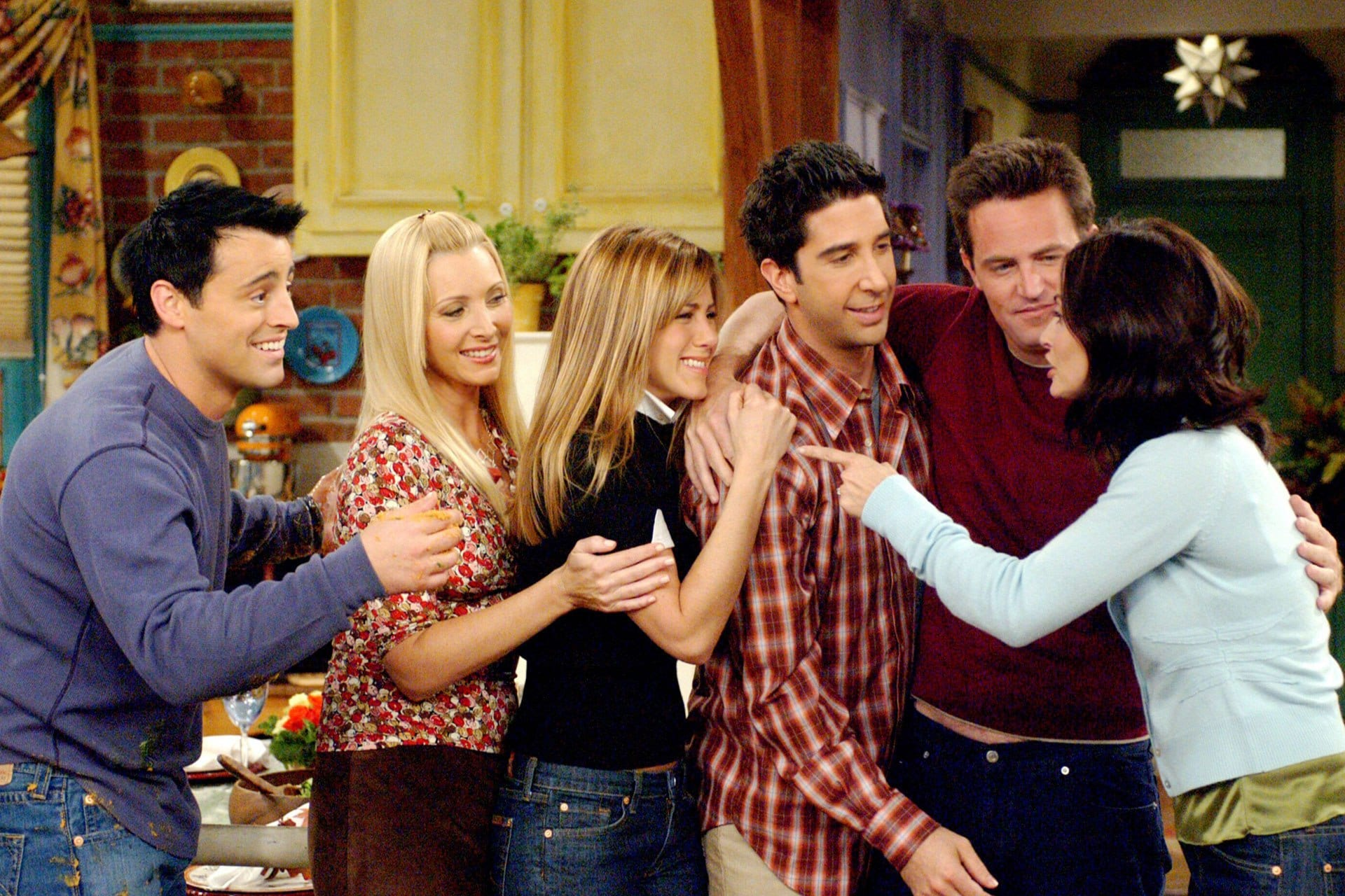 This is what it was really like working on the set of Friends