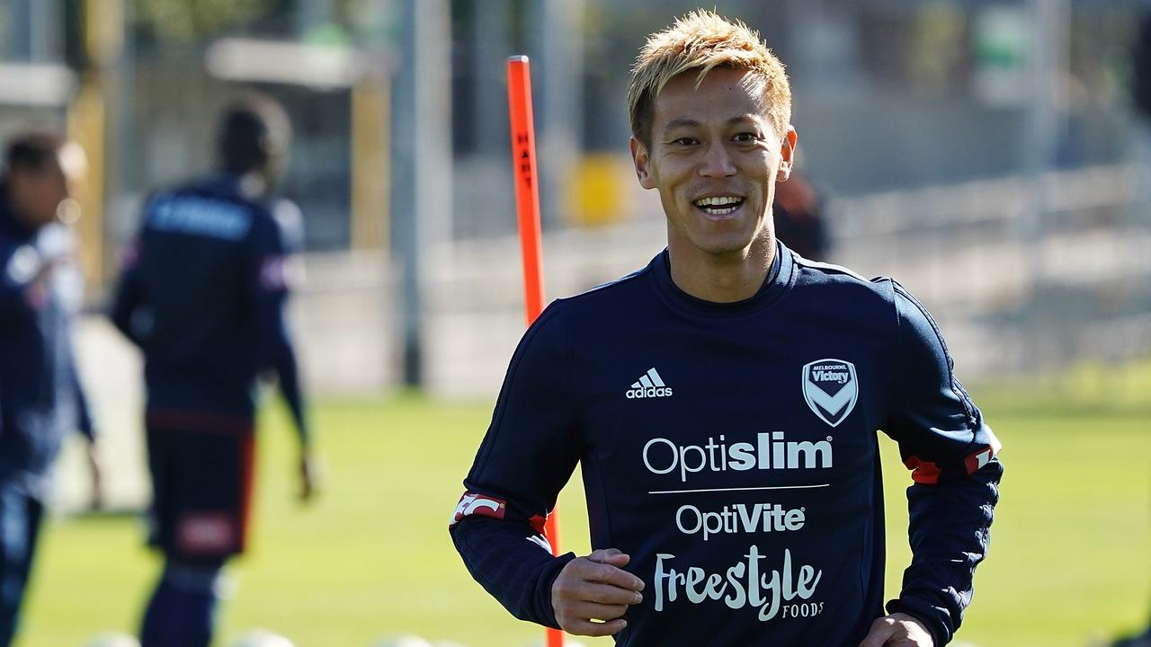 Keisuke Honda is one of the most highly credentialed players to feature in the A-League.