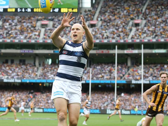 Gary Ablett was met with a hostile reception yesterday.