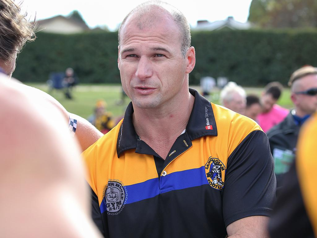 St Kilda assistant Aaron Hamill has coached the Zebras for the past two years.
