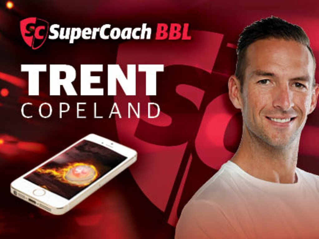 Trent Copeland is the reigning Sheffield Shield player of the year.