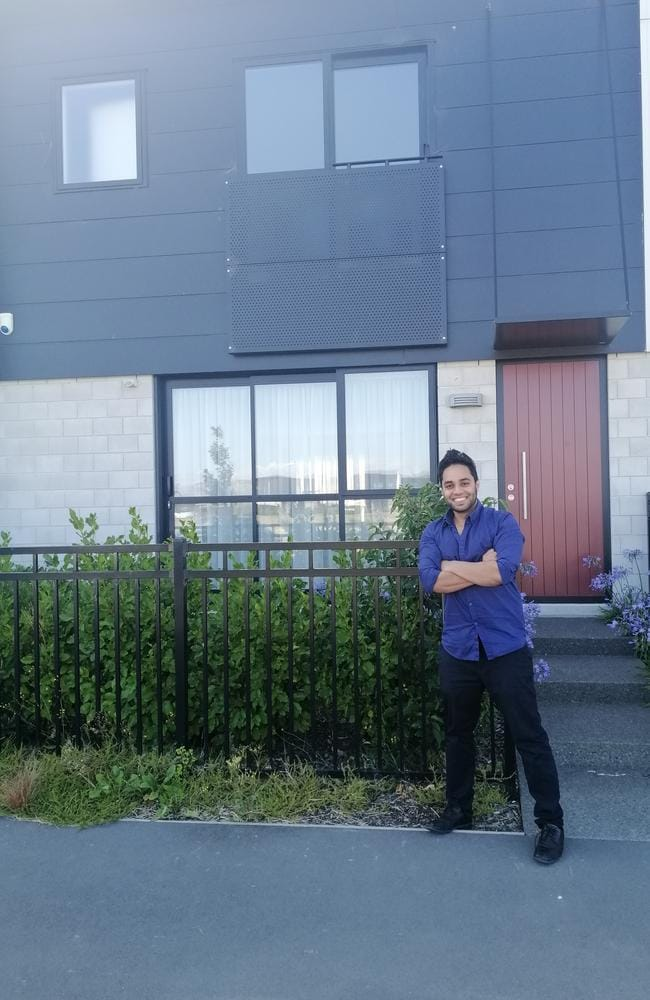 Riyaan Mohamed already owns a string of properties – but he's planning on snapping up many more and 'retiring' at 35. Picture: Supplied