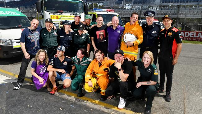 Emergency services personnel and volunteers will be offered free tickets to the popular V8 Supercars event. Picture: Tricia Watkinson