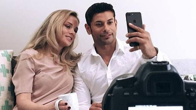 Jessika and Dino worked together for an ad, pre- <i>MAFS</i>.