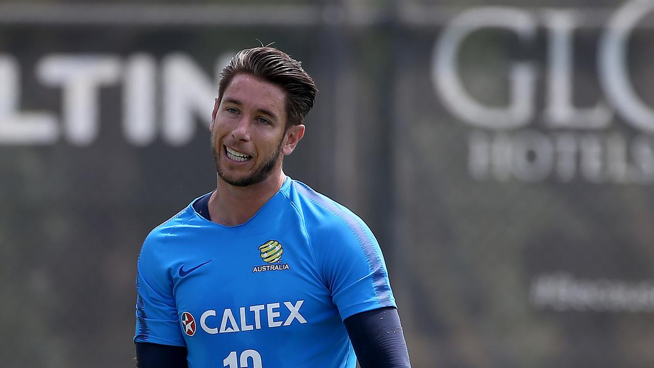 Brad Jones was hospitalised after a sickening collision with a teammate