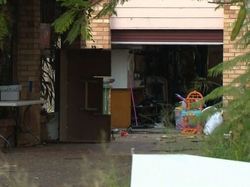 Neighbours say this Surfers Paradise home where police found a man's body has been the scene of domestic-violence related incidents in the past. Picture: Nine News