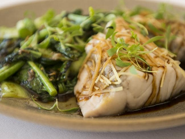 Barramundi with green veg looks great, but could you eat it seven times a day, every day? Chris McKeen