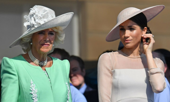 Camilla Parker Bowles has weighed in on Meghan Markle's family drama