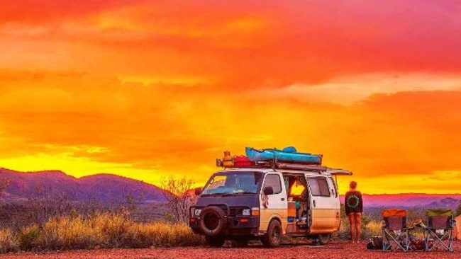 Road trip: The young couples who threw it all in for 'van life'