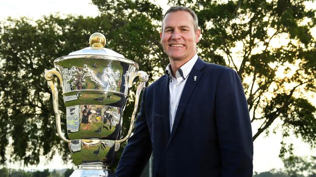 Rugby League World Cup CEO Andrew Hill is excited to see the strength of the women's tournament. Picture: Justin Kennedy