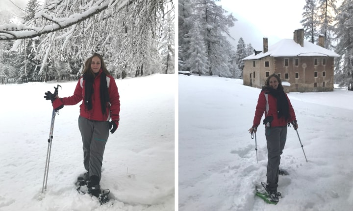 The snow walk was the absoulte highlight of the trip. Source: Madeline Cox