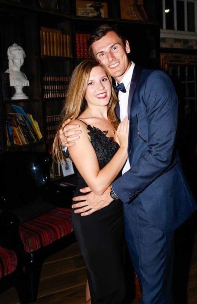 Dane Bird-Smith with his wife Katy.
