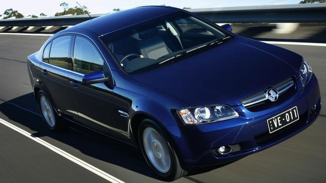 The Holden Commodore VE was the first truly all-Aussie Commodore, but it was also the weakest seller. Picture: Supplied