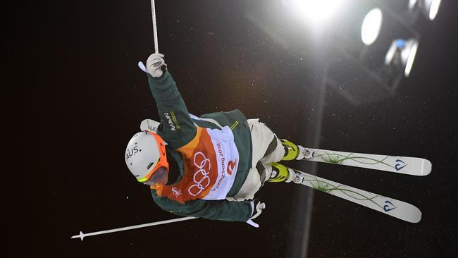 Australia's Matt Graham in action. Picture: AFP