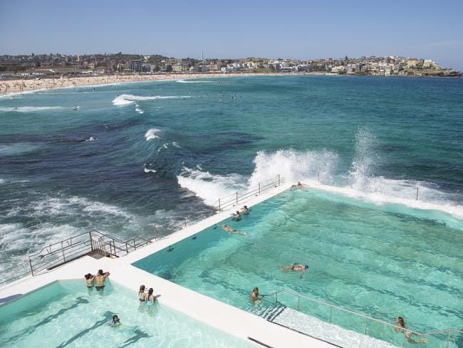 World famous Bondi Beach.