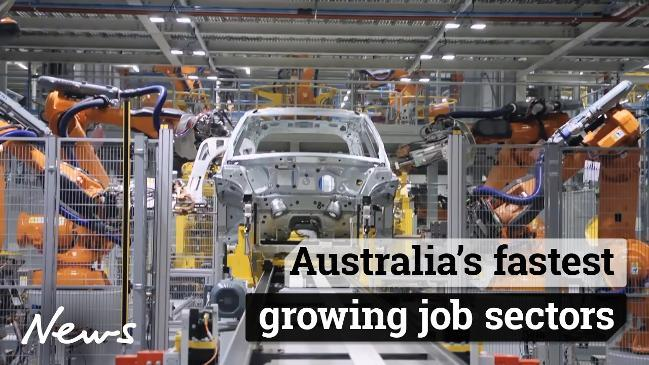 Australia's fastest growing job sectors