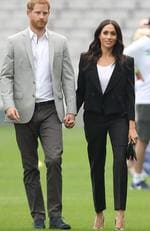 Prince Harry, Duke of Sussex and Meghan, Duchess of Sussex visit Croke Park, home of Ireland's largest sporting organisation, the Gaelic Athletic Association during their visit to Ireland on July 11, 2018 in Dublin, Ireland. Picture: Chris Jackson - Pool/Getty Images