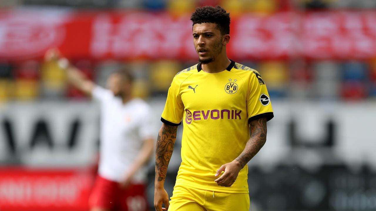 Manchester United have made Jadon Sancho their priority.
