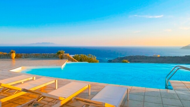 Image: Supplied. Dream Villa Mykonos