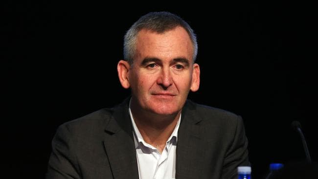 Woolworths chief Brad Banducci doesn't know yet which stores will close.