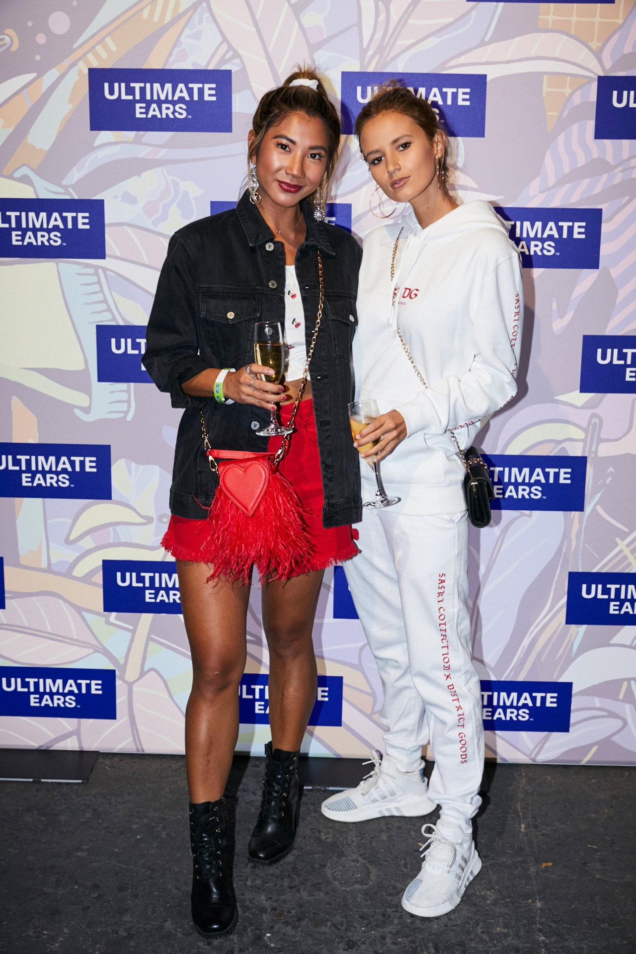 Jessie Khoo and Tori Levett attend Ultimate Ears latest unveiling in Waterloo. Image credit: Flashpoint Labs