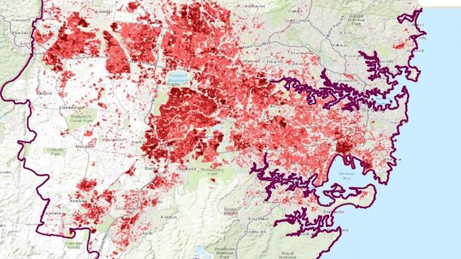 A study by the University of Western Australia and RMIT found areas in Sydney's west have a significantly stronger urban heat island effect than in more affluent eastern areas of the city.