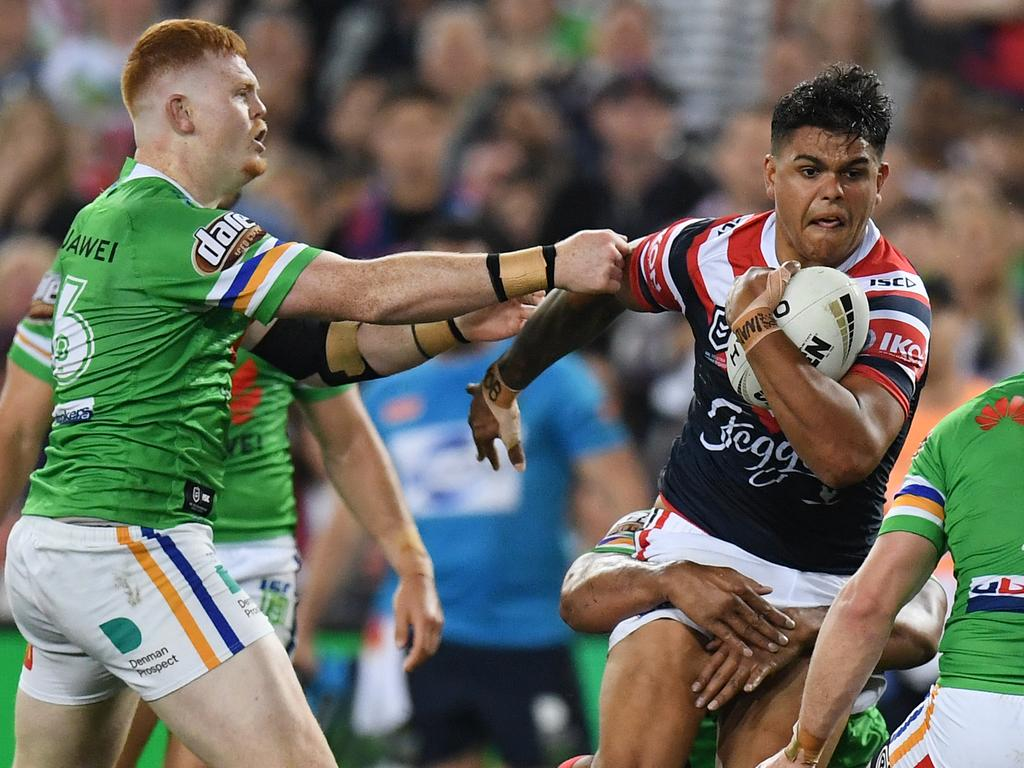 Could the 2019 grand final be Latrell Mitchell's last game for the Roosters?